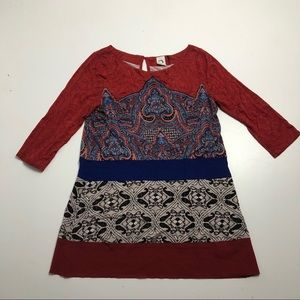 Anthropologie Akemi + Kin Gia Boho Tunic Top Dress